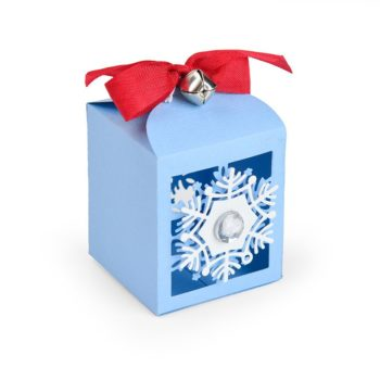 Sizzix Snowflake Favor Box Die Set 663610