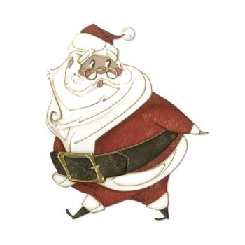Tim Holtz Jolly St Nick 664198