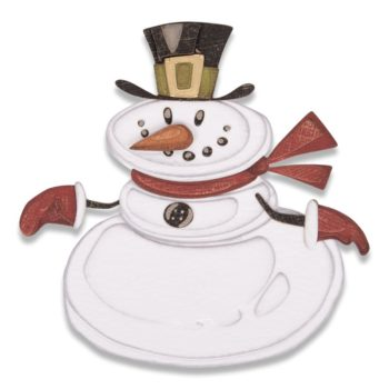 Sizzix Mr. Snowman Dies by Tim Holtz