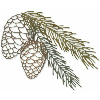 Sizzix Pine Branch Thinlits Die Set