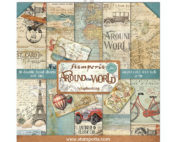 Stamperia Around The World 8 x 8 Paper Pad