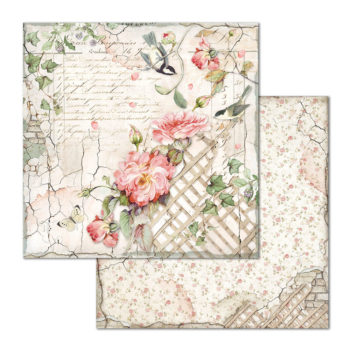 Stamperia House of Roses 12 x 12 Paper Pack