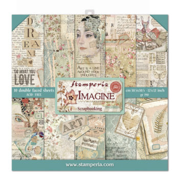"Stamperia Imagine 12 x 12"" Pad"