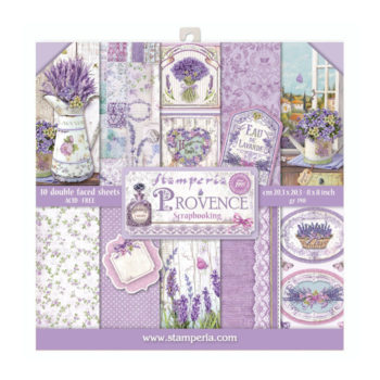 Stamperia Provence 8 x 8 Paper Pack