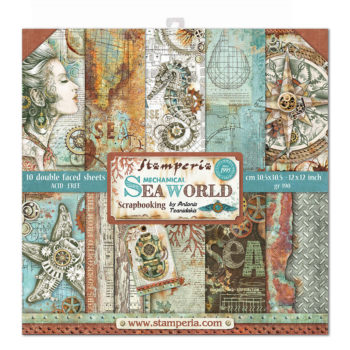 Stamperia Sea World 12 x 12 Paper Pad