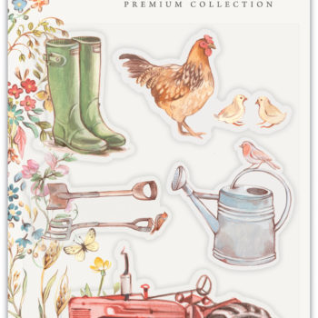 Farm Meadow Clear Stamp Set