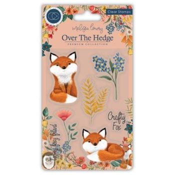 Craft Consortium Over The Hedge - Henry The Fox Clear Stamps