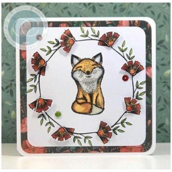 Craft Consortium - Henry The Fox Clear Stamps