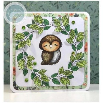 Over The Hedge Olivia the Owl Clear Stamps - Craft Consortium