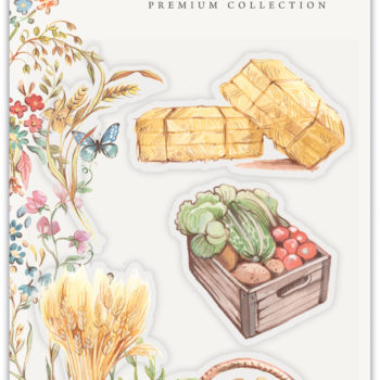 Pick of the Crop Clear Stamps