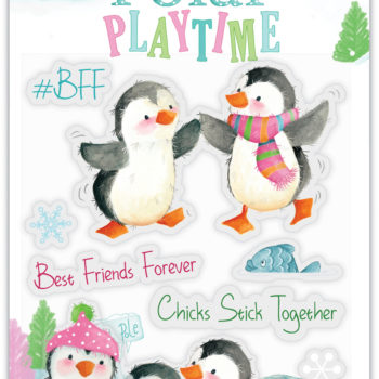 Polar Playtime BFF Clear Stamps