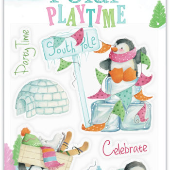 Polar Playtime Clear Stamps