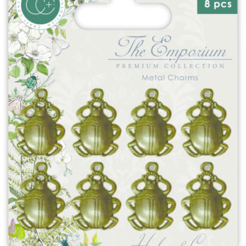 The Emporium Metal Beetle Charms
