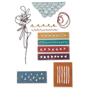 Tim Holtz Media Marks Die Set