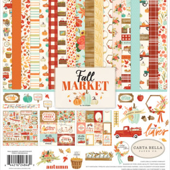 Carta Bella Fall Market Paper Pad