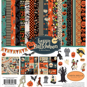 Happy Halloween 12 x 12 Collection Kit