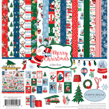 Merry Christmas 12 x 12 Collection Kit