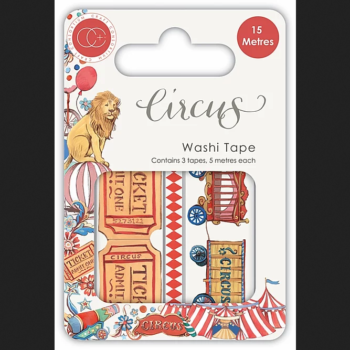 Circus Premium papercraft collection from Craft Consortium