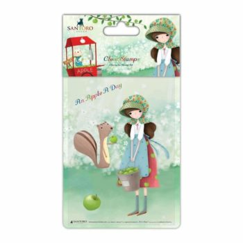 An Apple A Day Clear Stamp Set