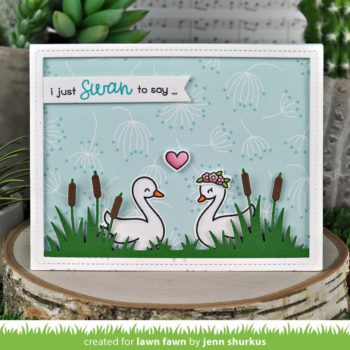 lawn-fawn-swan-soiree-clear-stamp set