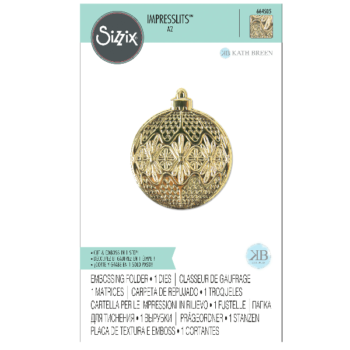 Sizzix Ornament Embossing Folder