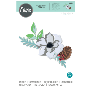 Sizzix Layered Winter Flower