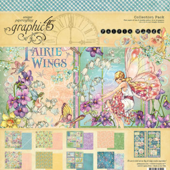 Graphic 45 fairy Wings Paper Pads