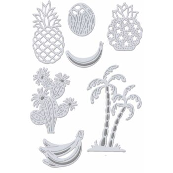 Sweet Dixie Fruit Cacti and Palm Tree Dies set